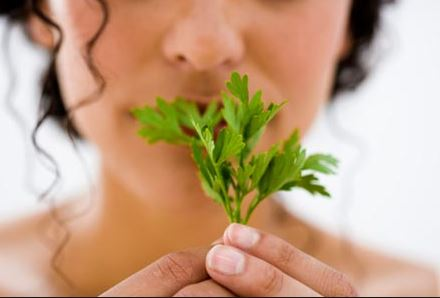 Radiant complexion with parsley, the best detox for your skin.