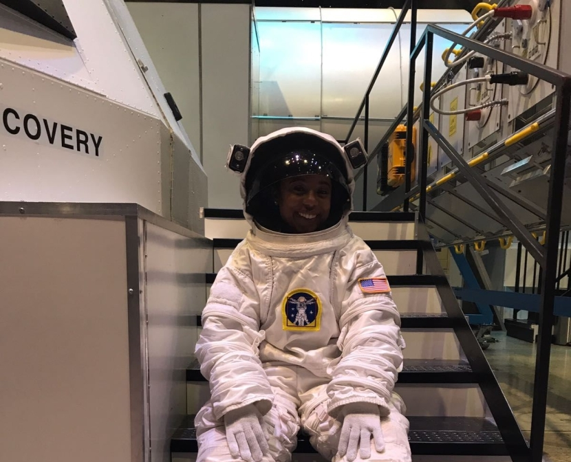 Space has no boundaries. The world seen through NASA engineer lens – Tiera Fletcher